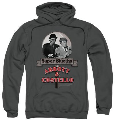 Hoodie: Abbott & Costello - Super Sleuths
