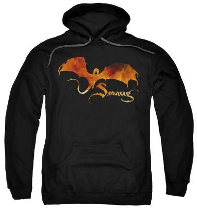 Hoodie: The Hobbit: The Battle of the Five Armies - Smaug On Fire