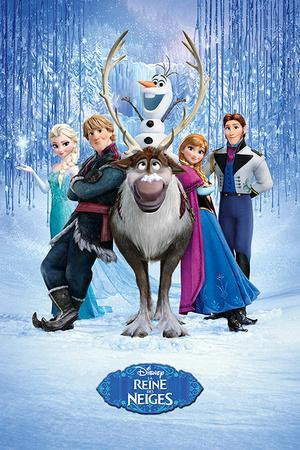 Frozen - Cast French Language