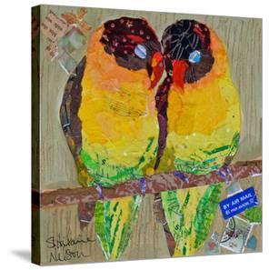 Lovebirds Yelllow