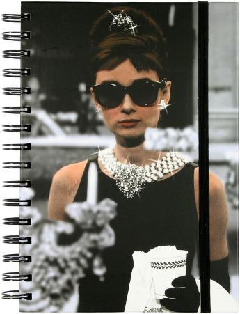 Audrey Breakfast at Tiffany's Spiral Journal