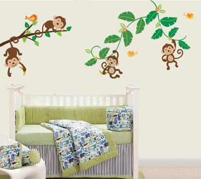 Four Little Monkeys