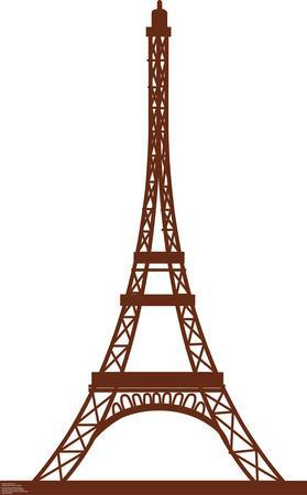 Paris Eiffel Tower Lifesize Standup