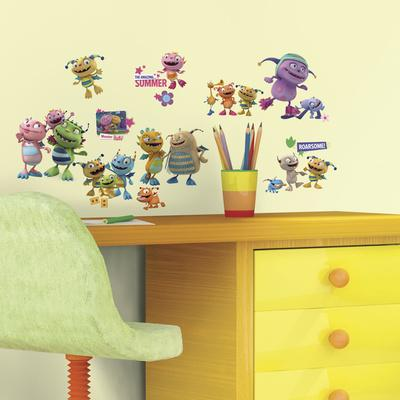 Henry Hugglemonster Peel and Stick Wall Decals