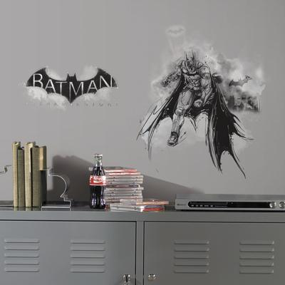 Batman Arkham Knight Darkness Wall Graphix Peel and Stick Giant Wall Decals