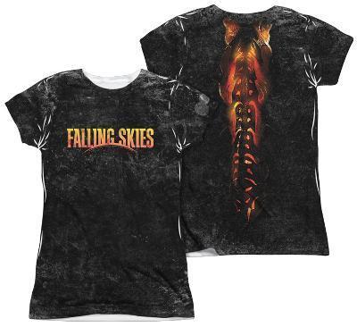 Juniors: Falling Skies - Harness (Front/Back Print)