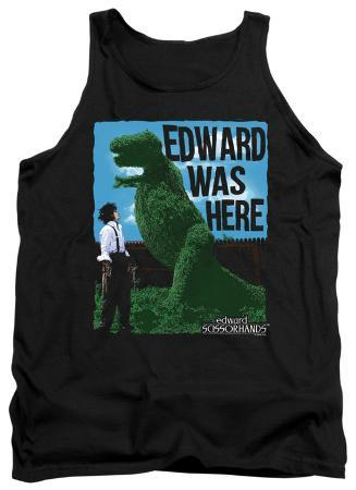 Tank Top: Edward Scissorhands - Edward Was Here