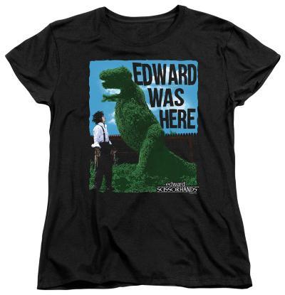 Womens: Edward Scissorhands - Edward Was Here