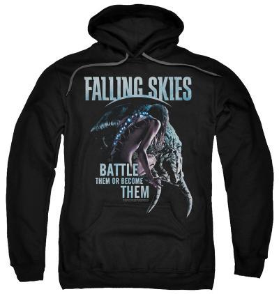 Hoodie: Falling Skies - Battle Or Become