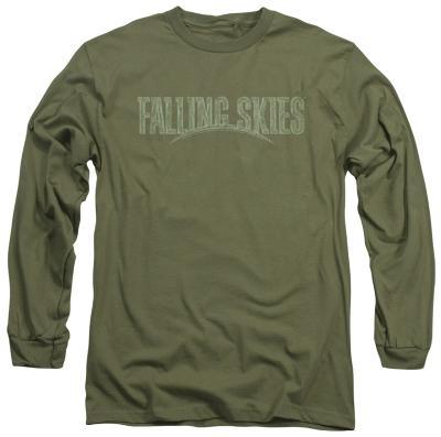 Longsleeve: Falling Skies - Distressed Logo