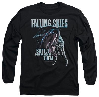 Longsleeve: Falling Skies - Battle Or Become