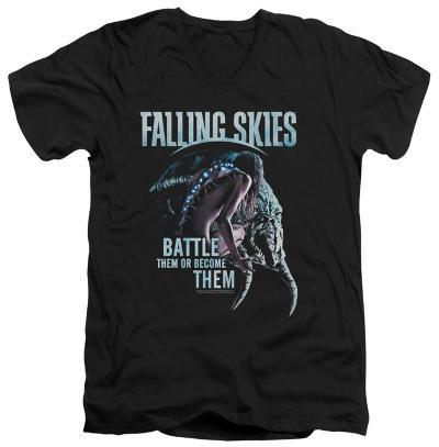 Falling Skies - Battle Or Become V-neck