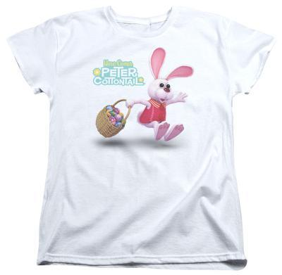 Womens: Here Comes Peter Cottontail - Hop Around