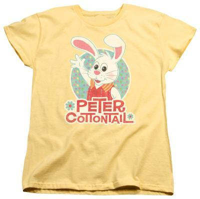 Womens: Here Comes Petter Cottontail - Peter Wave