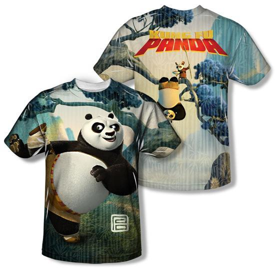 879098f3 Kung Fu Panda - Training (Front/Back) Sublimated at AllPosters.com