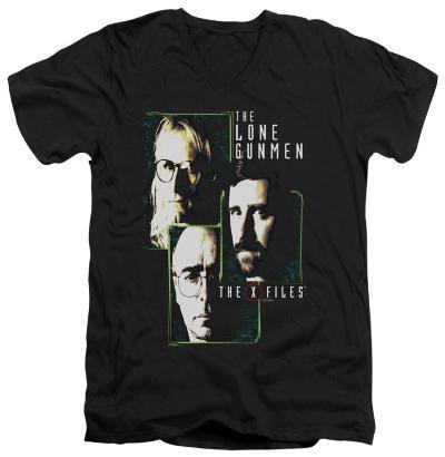The X Files - Lone Gunmen V-neck