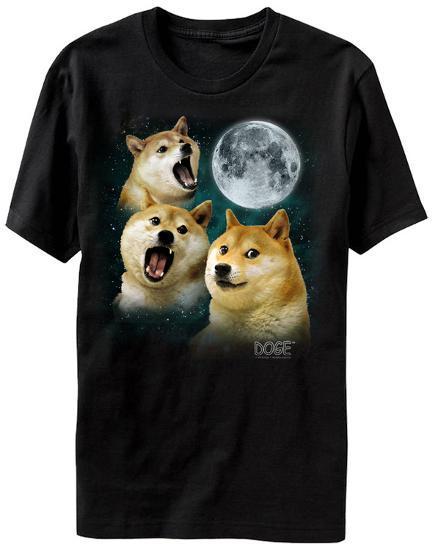 doge three doge moon t shirt at allposters com