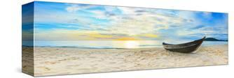 Fisherman Boat Beach Panorama