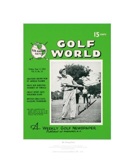 Signed Arnold Palmer S First Golf World Cover Limited Edition Limited Edition At