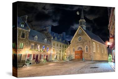Christmas-Place-Royale Quebec