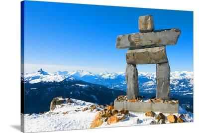 Inukshuk at Whistler Mountain