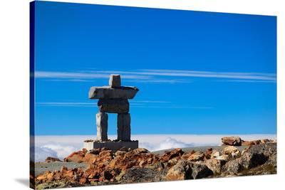Inukshuk atop Mount Whistler
