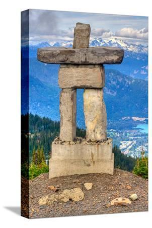 Inukshuk atop WhistlerMountain