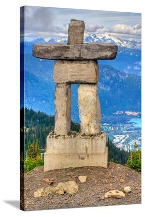 Inukshuk atop WhistlerMountain