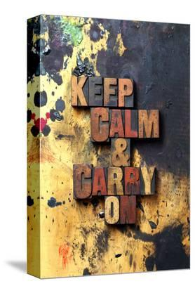 Keep Calm & Carry On-Old Type