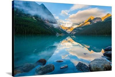 Lake Louise At Sunrise Banff