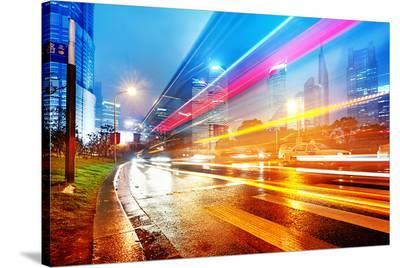Lights Modern Shanghai China
