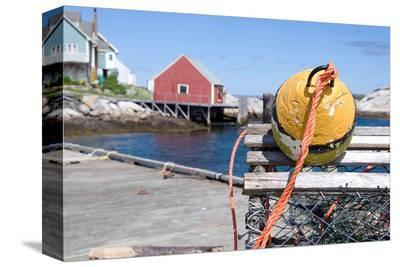 Lobster trap at Peggy's Cove