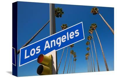 Los Angeles CA Road Sign