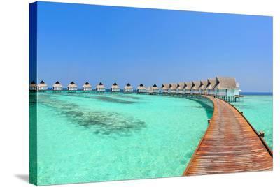 Maldive Water Villa Panorama