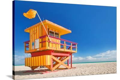 Miami Art Deco Lifeguard House