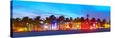 Miami Beach Sunset Ocean Drive
