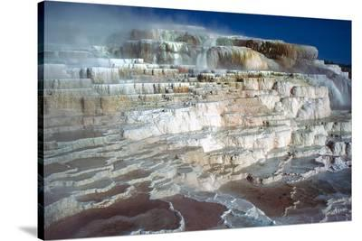 Minerva Terrace at Yellowstone