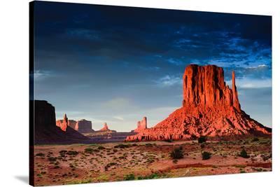 Monument Valley At Dusk Utah