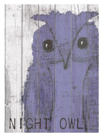 Night Owl Purple
