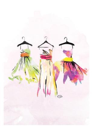 Dresses watercolor