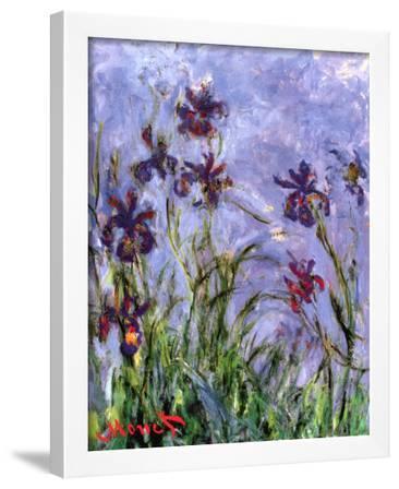 Irises (detail)