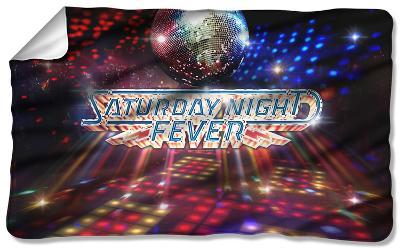 Saturday Night Fever - Dance Floor Fleece Blanket