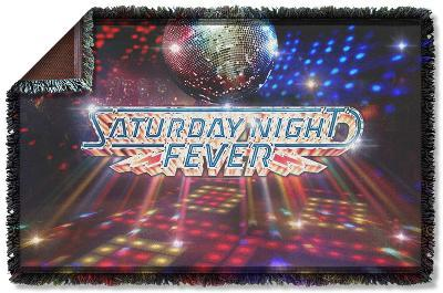 Saturday Night Fever - Dance Floor Woven Throw