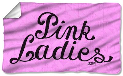 Grease - Pink Ladies Fleece Blanket