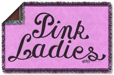 Grease - Pink Ladies Woven Throw
