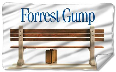 Forrest Gump - Bench Fleece Blanket