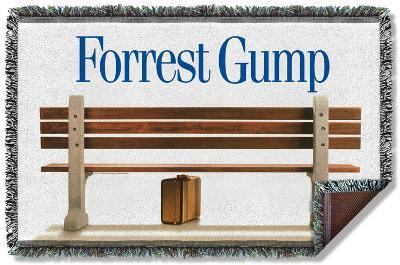 Forrest Gump - Bench Woven Throw