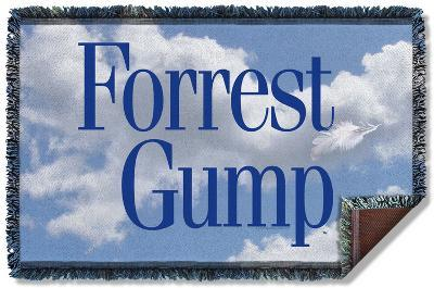 Forrest Gump - Feather Woven Throw