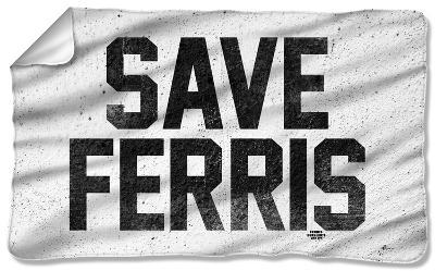 Ferris Bueller - Save Ferris Fleece Blanket