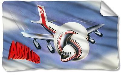 Airplane - Poster Fleece Blanket